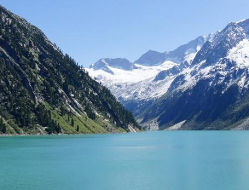 Top Ausflugsziel Schlegeisspeicher Zillertaler Alpen